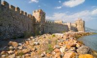 Die Burg am Kap Anamur ist gut erhalten und gehört zum UNESCO Welterbe