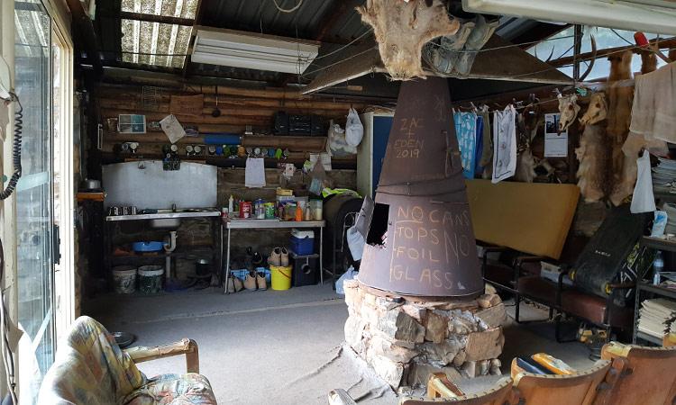 Daves gemütliche Hütte