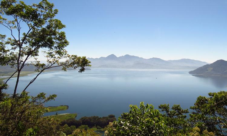 Blick auf den Yojoa See Honduras