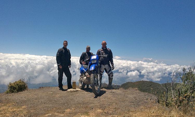 über den Wolken - Blick vom Vulkan Irazu