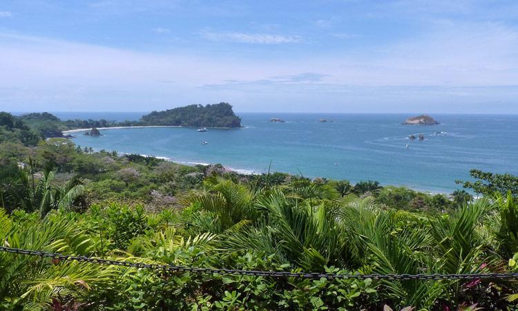 Die Küste von Costa Rica