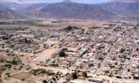 Blick auf die Stadt Nasca