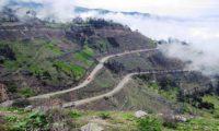 Geniale Motorradstrecke nach Andahuaylas