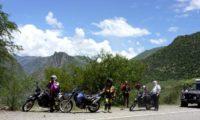 Kurze Pause in den Anden mit herrlichen Ausblicken