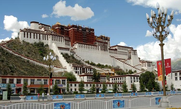 Lhasa Potala Palast
