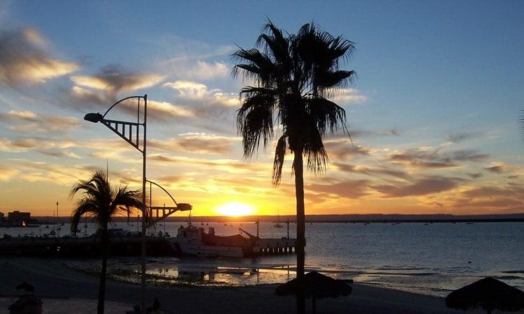 Sonnenuntergang in Cabo San Lucas