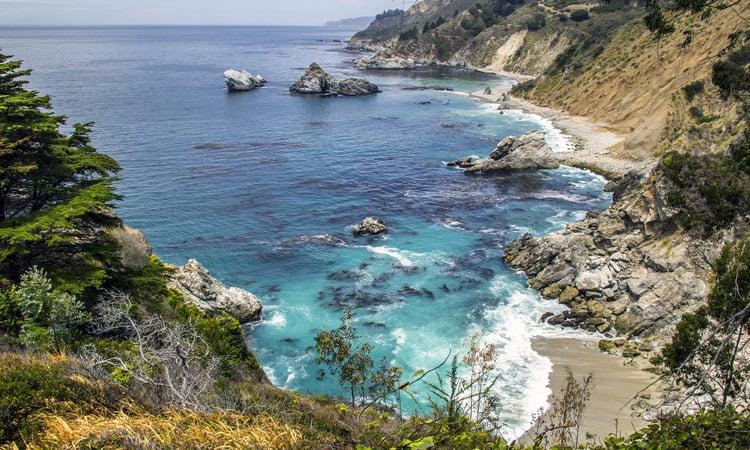 Big Sur Strand bei Monterey