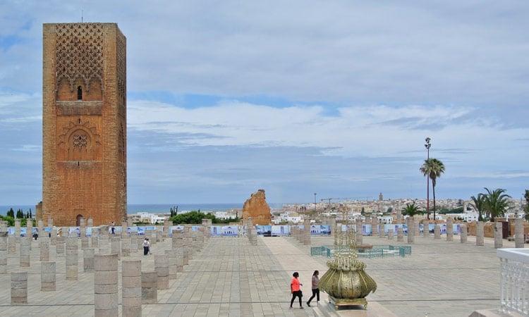 Der Hassan Turm in Rabat