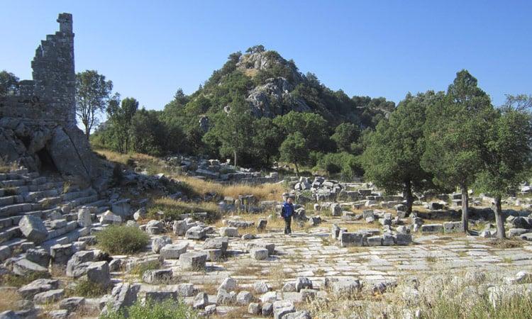 Besichtigung der Ruine