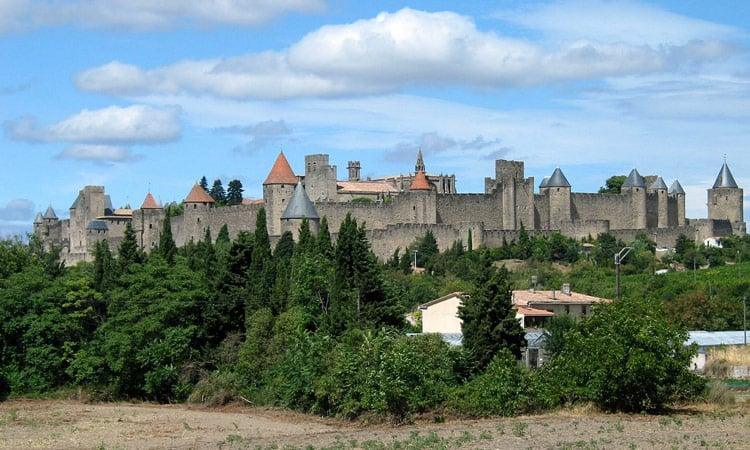 Das Schloss in Carcassone