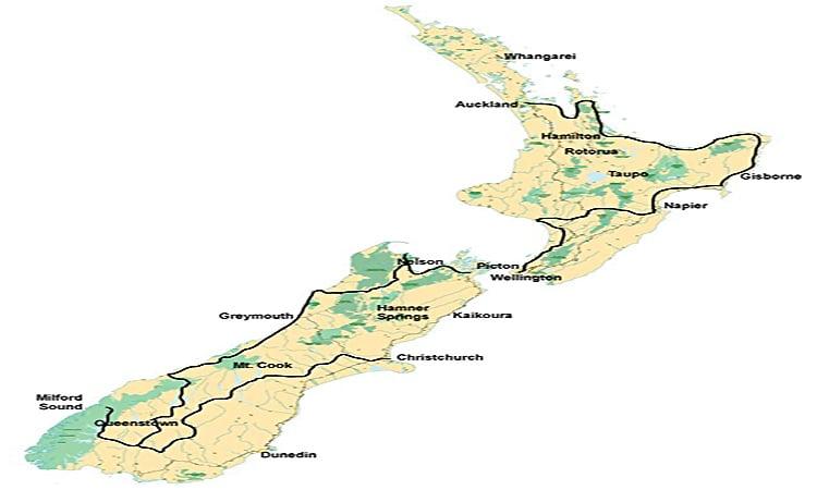 Coastal Classic Routenverlauf