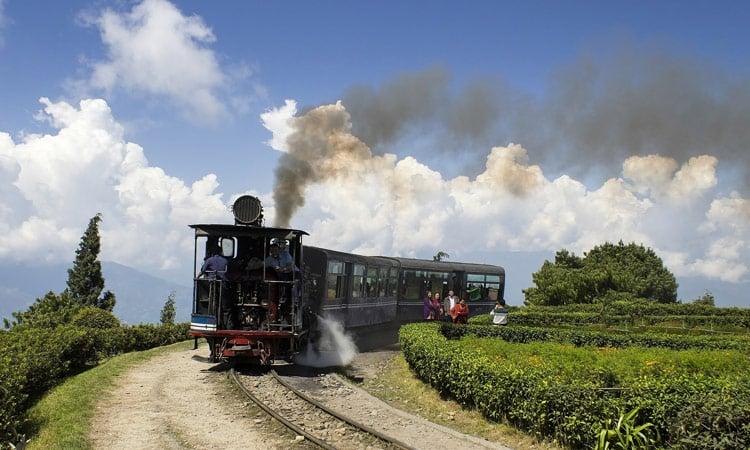 Der toy train in Darjeeling