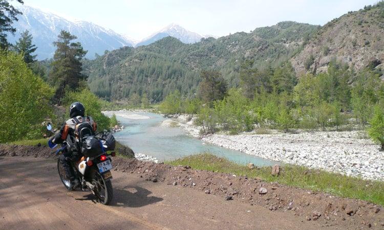 Türkei Fahrt durchs Tal