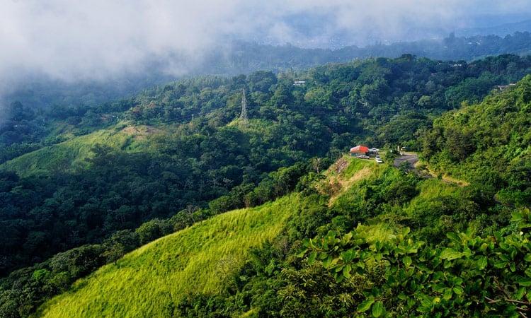 traumhaftes Panorama Bergregion San Salvador