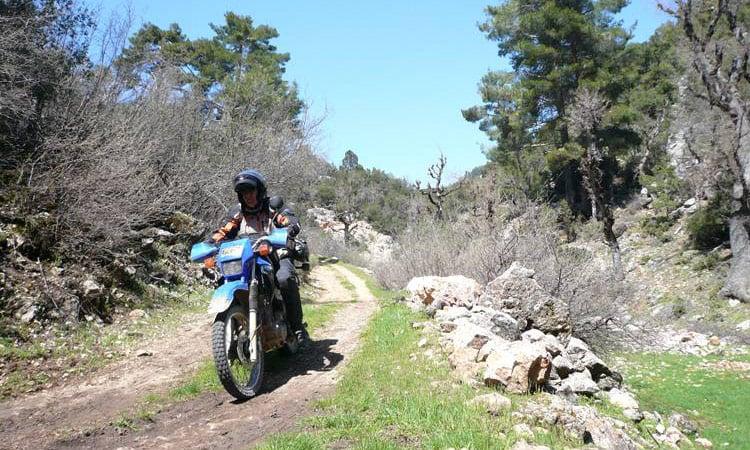 Feldweg nach Citlik