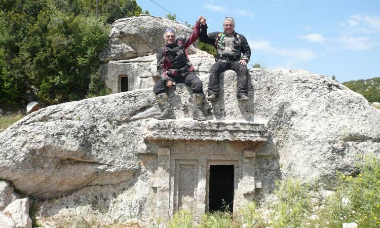 Felsengrab nahe Citlik