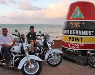 Florida Key West Motorradtour