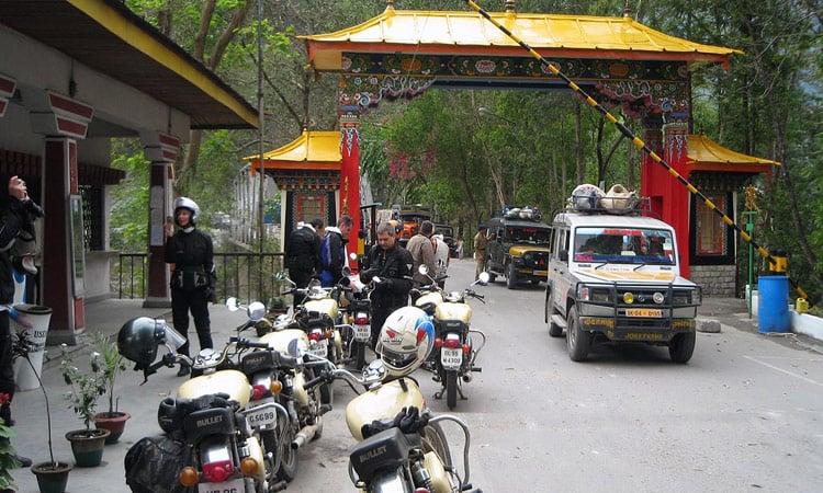 Grenzübergang Indien - Bhutan