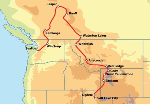 Von Kanada bis Yellowstone Routenverlauf.jpg