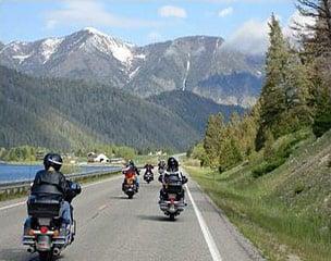 Von Kanada bis Yellowstone Motorradtour
