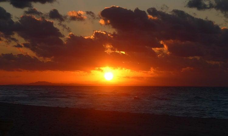Kuba Sonnenuntergang