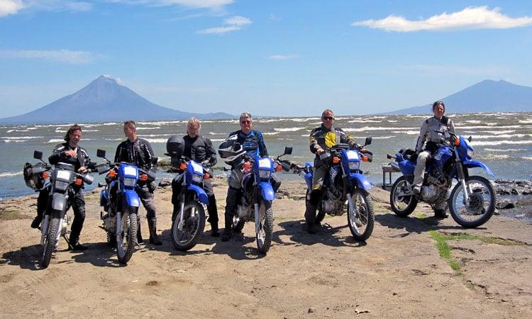 Gruppenbild am Lago Nicaragua