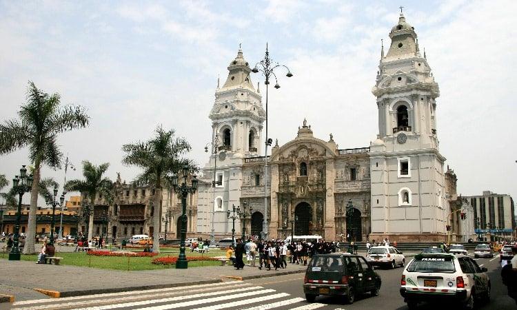 Zentrum von Lima