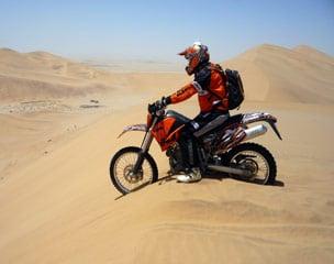 Namibia Off-Road Abenteuer Endurotour