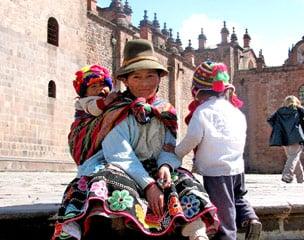 Peru Nabel der Welt