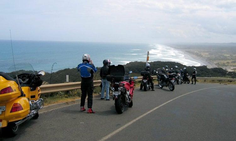 Blick auf die Küste
