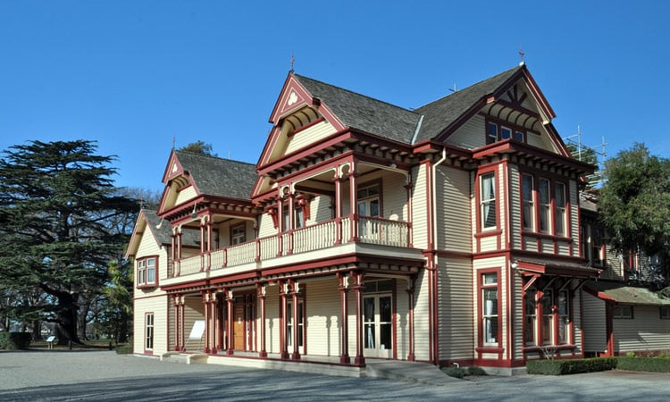 Historisches Haus in Christchurch