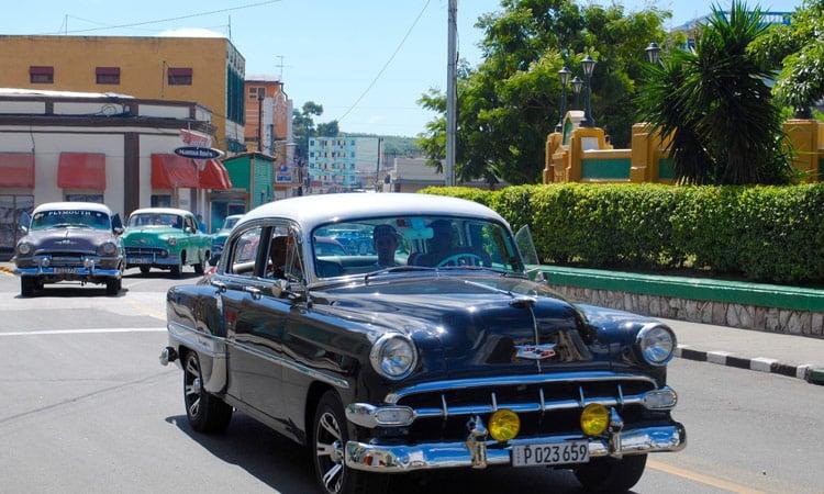 Verkehr in Santiago de Kuba