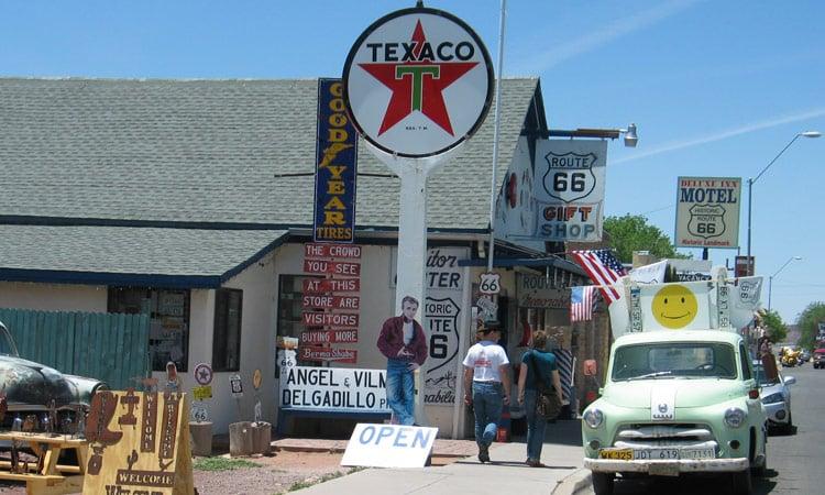 Seligman an der Route 66