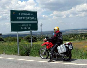 Spanien Extremadura selfguided Motorradtour