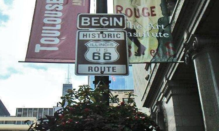 Start der Route 66
