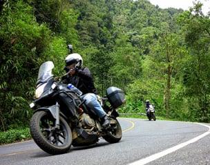 Thailand Kurvenparadies Motorradtour