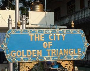 Thailand Off-Road Abenteuer goldenes Dreieck