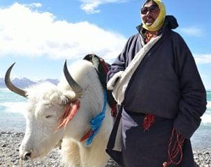 Tibet Überland Motorradtour