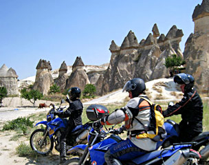 Türkei Kappadokien Motorradtour