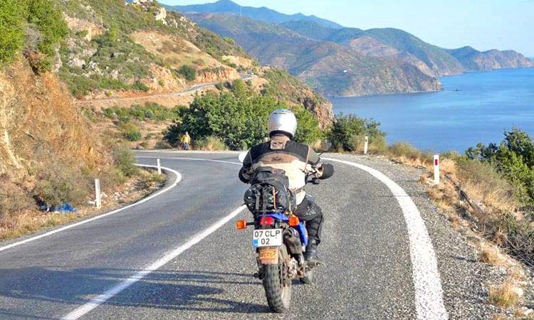 Türkei Küstenstraße bei Kas