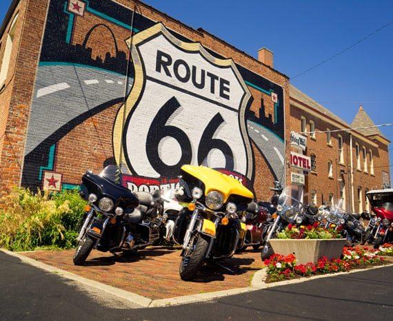 "USA ""Route 66"" selbstgeführte Motorradtour"