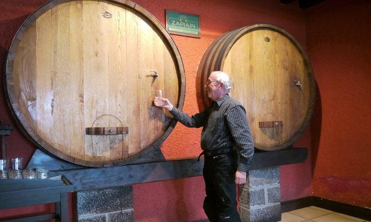 Spanien Wein vom Faß